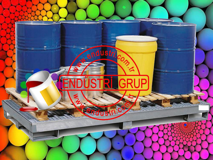 Endustri grup - Boya tiner kimyasal asit sivi damlama kuveti toplama tavasi sizma kabi ENDÜSTRİ GRUP Endüstriyel