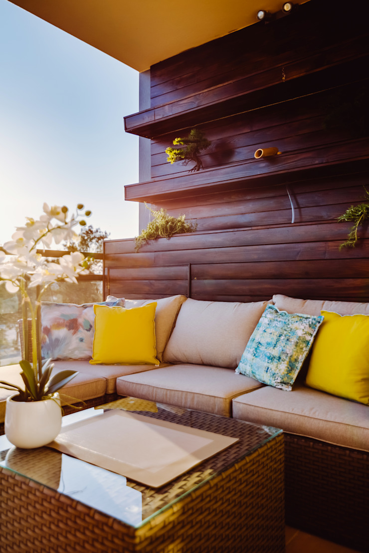 Ivo Santos Multimédia Balconies, verandas & terraces Accessories & decoration