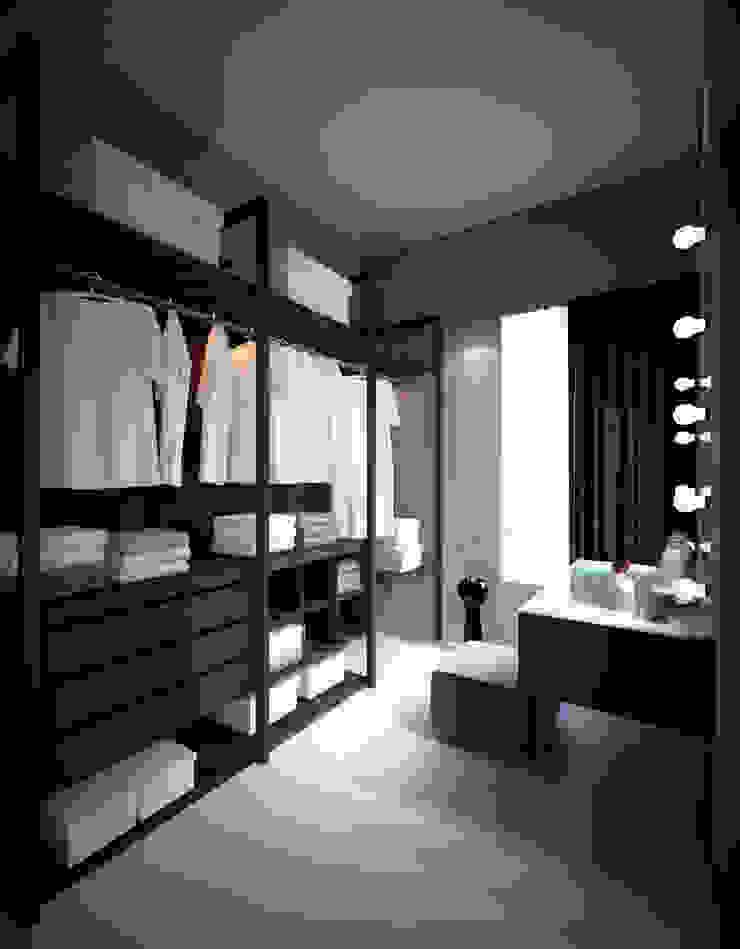 Apartment Aston Ancol Ruang Ganti Modern Oleh Elora Desain Modern
