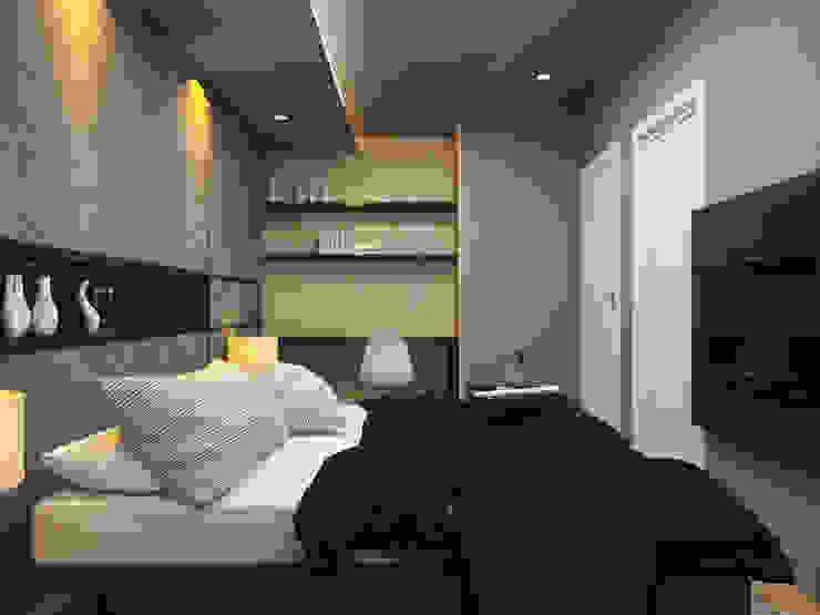 Apartment Aston Ancol Kamar Tidur Modern Oleh Elora Desain Modern