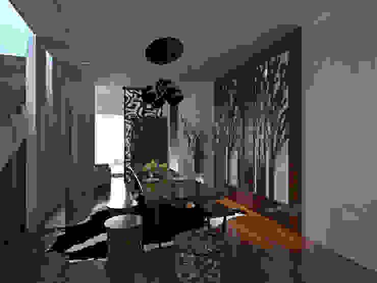 Apartment Aston Ancol Ruang Keluarga Modern Oleh Elora Desain Modern