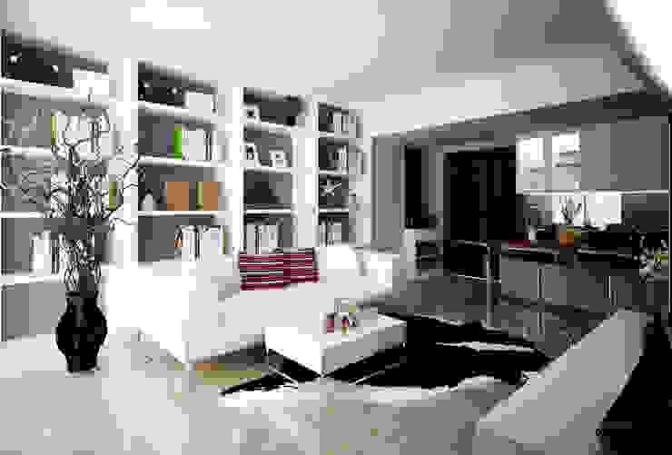 Apartment Gading Greenhill Ruang Keluarga Modern Oleh Elora Desain Modern