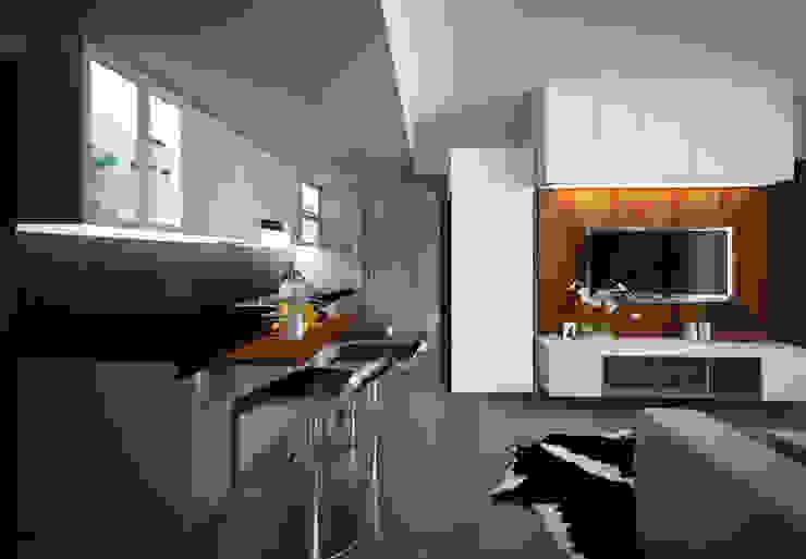 Apartment Gading Greenhill Elora Desain Dapur Modern