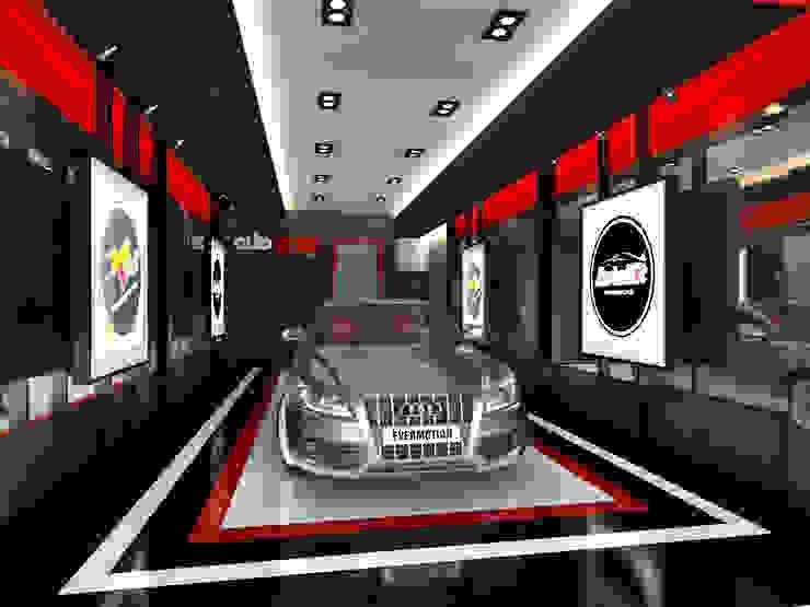 Autoglaze Outlets Dealer Mobil Modern Oleh Elora Desain Modern