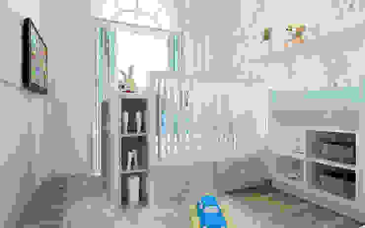 Rumah Tinggal Greenlake Kamar Bayi/Anak Modern Oleh Elora Desain Modern