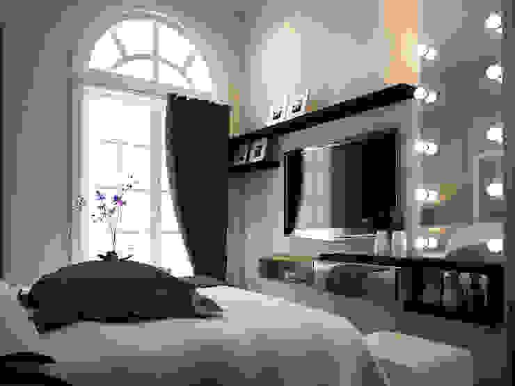 Rumah Tinggal Greenlake Kamar Tidur Modern Oleh Elora Desain Modern