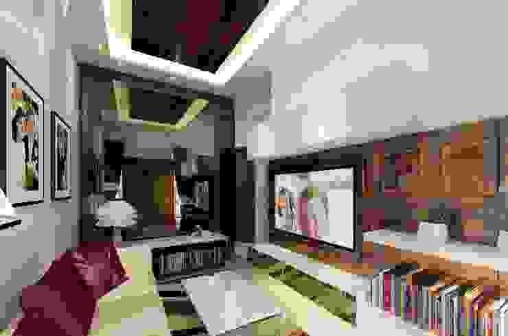 Sunter Resident Mr. Donny Ruang Keluarga Modern Oleh Elora Desain Modern