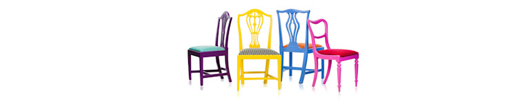 Klash Chairs : eclectic  by Standrin, Eclectic Wood Wood effect