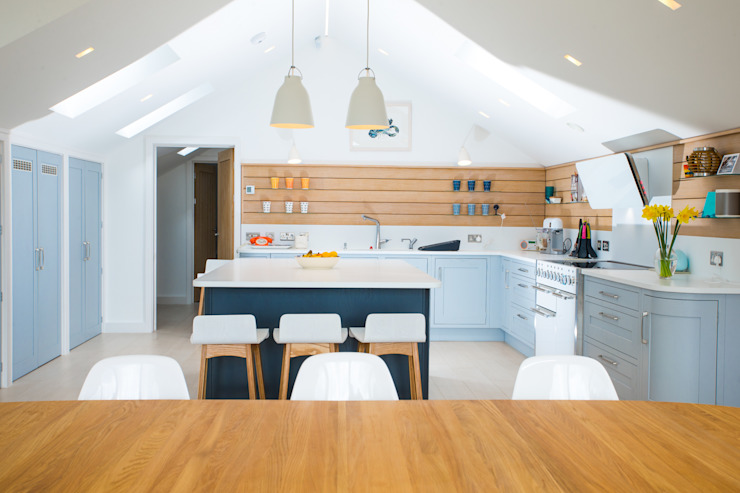 New Build, St Mawes, Cornwall bởi Marraum Bắc Âu Gỗ Wood effect