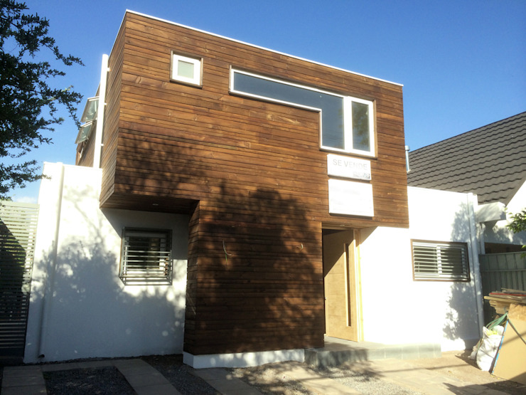 homify Single family home Wood Wood effect