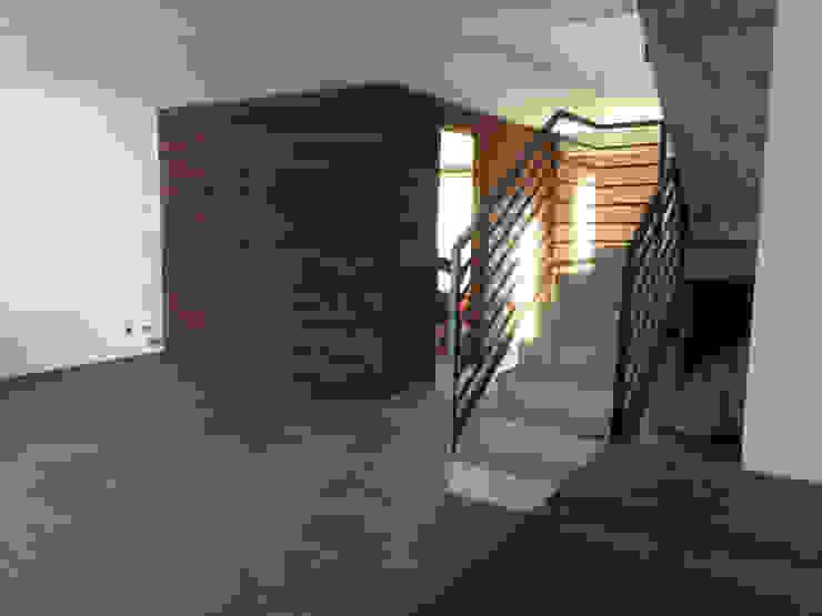homify Modern Living Room Wood Wood effect