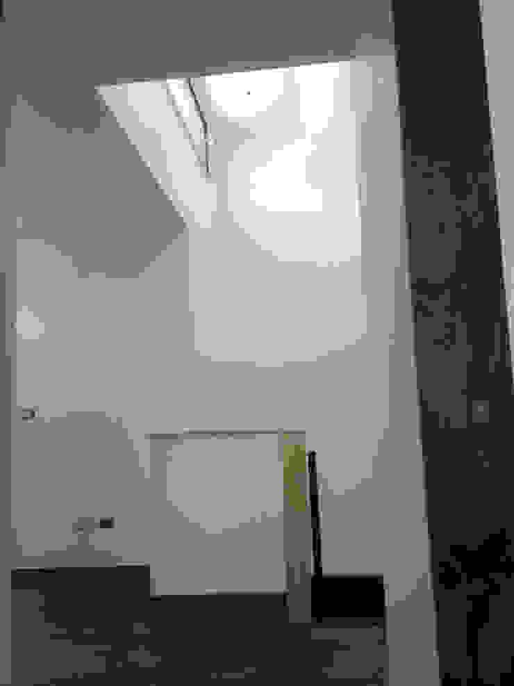 128_CasaVirgo_Vivienda Oficinas y bibliotecas de estilo moderno de Rakau Construcción + Arquitectura Moderno Madera Acabado en madera