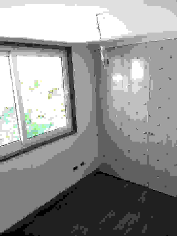 128_CasaVirgo_Vivienda de Rakau Construcción + Arquitectura Moderno Derivados de madera Transparente