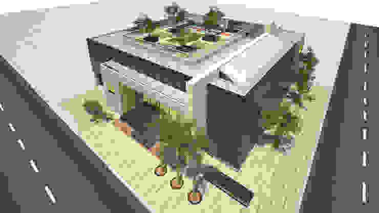 Amarilo Panamá de Polanco Bernal Arquitectos Moderno