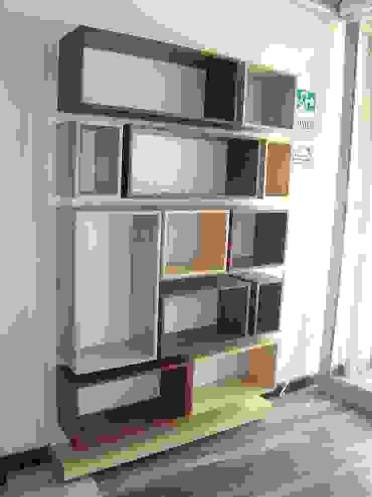 Biblioteca de Spazio Diseño y Decoración Moderno Tablero DM