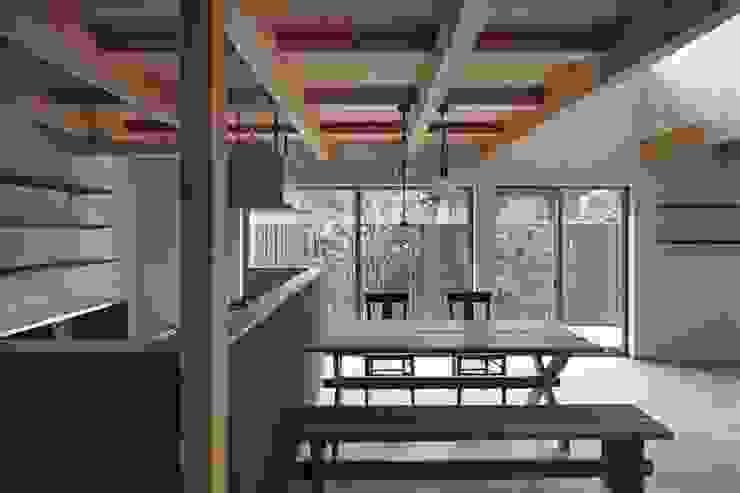 イン・エクスデザイン / in-ex design.Co.,Ltd. Modern dining room