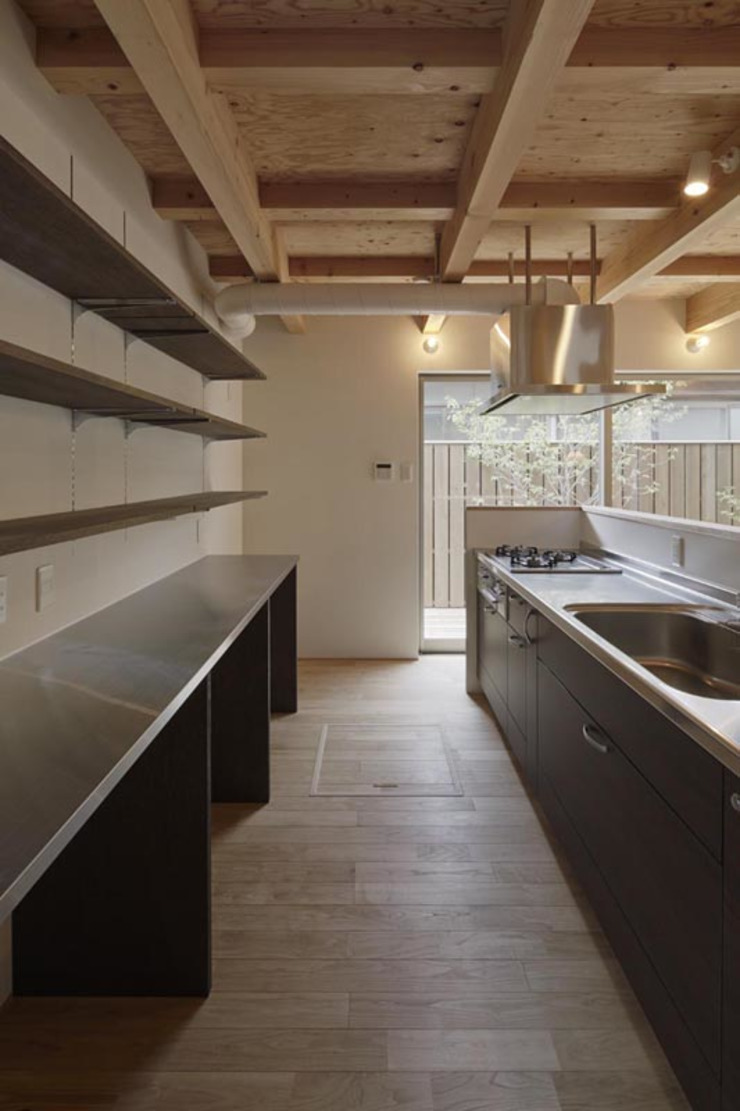 イン・エクスデザイン / in-ex design.Co.,Ltd. Modern kitchen