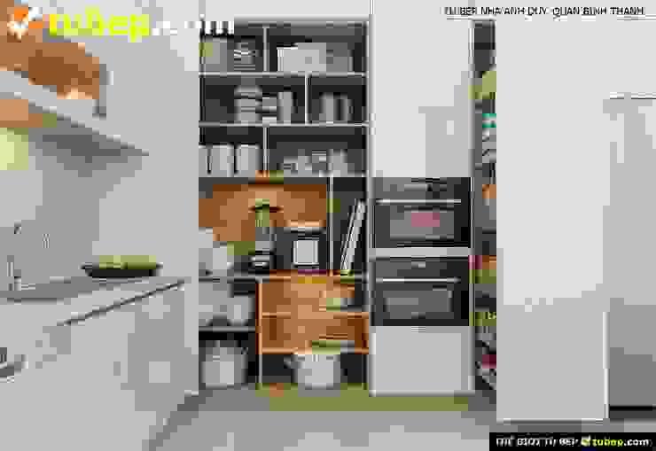 Thế Giới Tủ Bếp Muebles de cocinas Beige