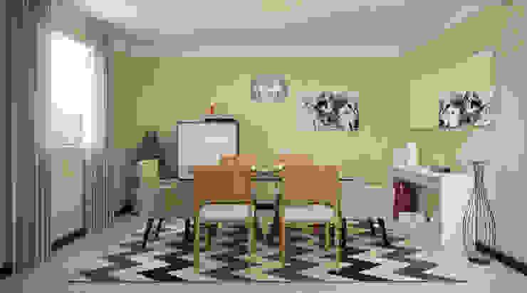 Modern dining room by EasyDeco Decoração Online Modern