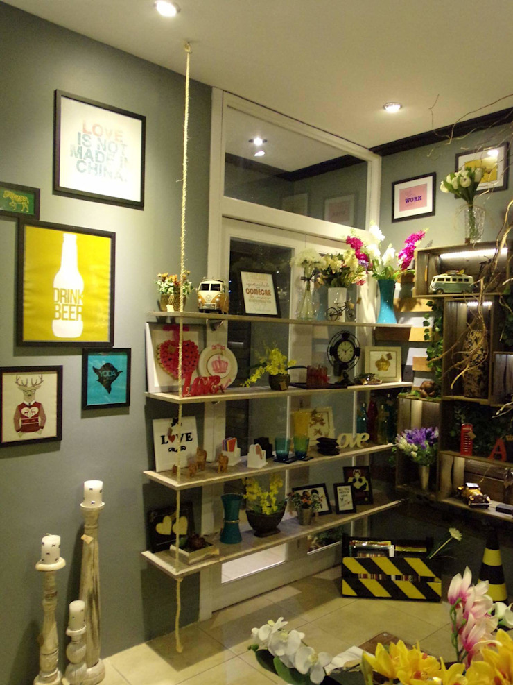 | Loja de objetos decorativos | Lojas & Imóveis comerciais rústicos por AKA Studio Rústico