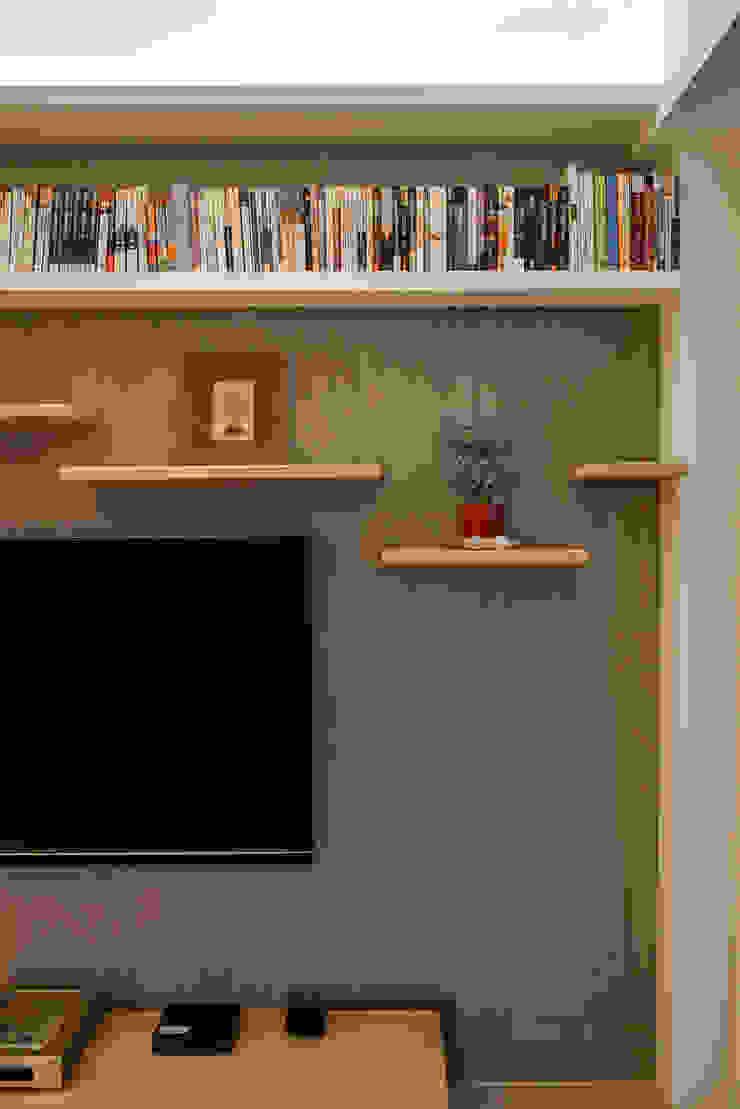 Modern Living Room by 王采元工作室 Modern