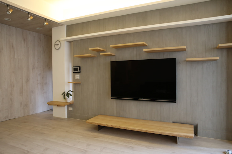 Living room by 王采元工作室
