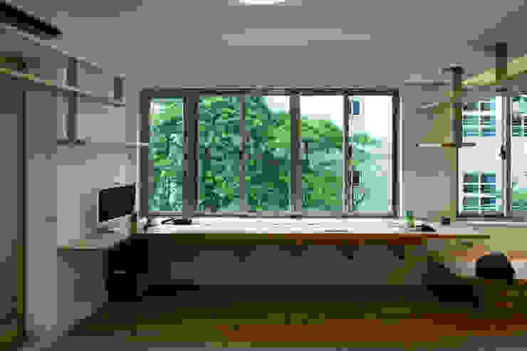 綠意閱讀區 根據 王采元工作室 現代風