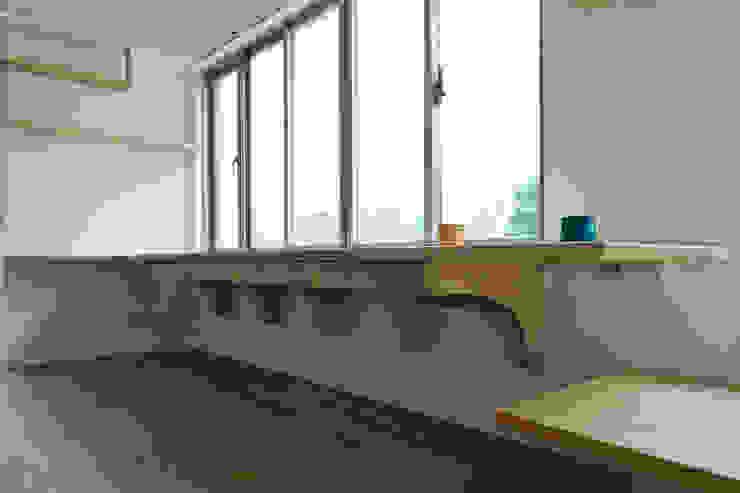 書桌細部 根據 王采元工作室 現代風