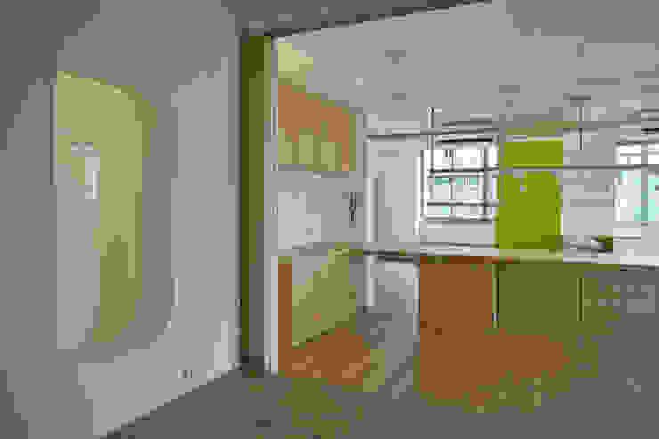 從和室看餐桌 根據 王采元工作室 現代風