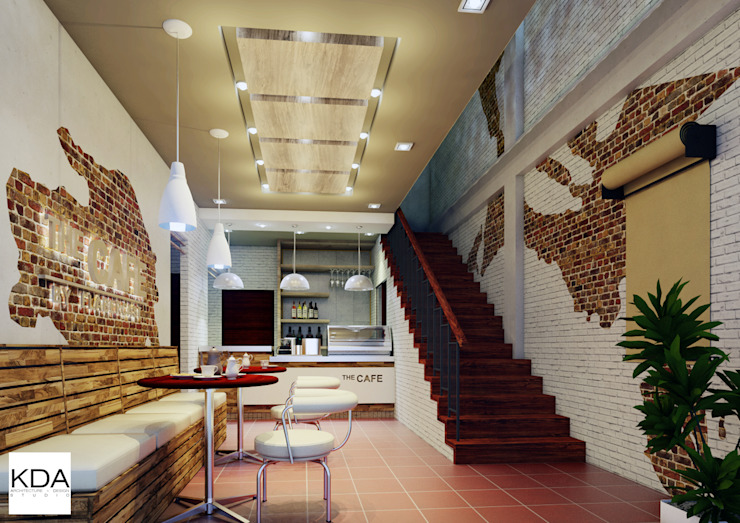 FdG Cafe Interior at Ground Level KDA Design + Architecture