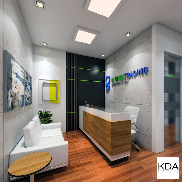 FdG Office Reception KDA Design + Architecture