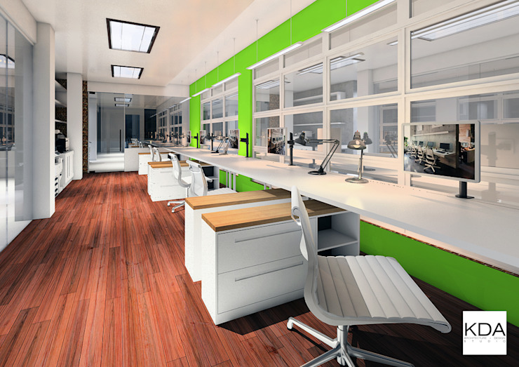 FdG Office Workstations Area KDA Design + Architecture