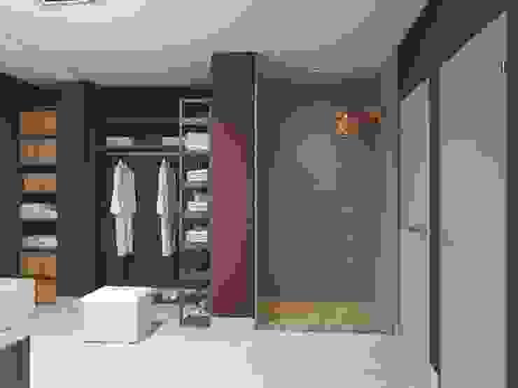 Дом Летчик Испытатель Modern Spa by Anastasia Yakovleva design studio Modern