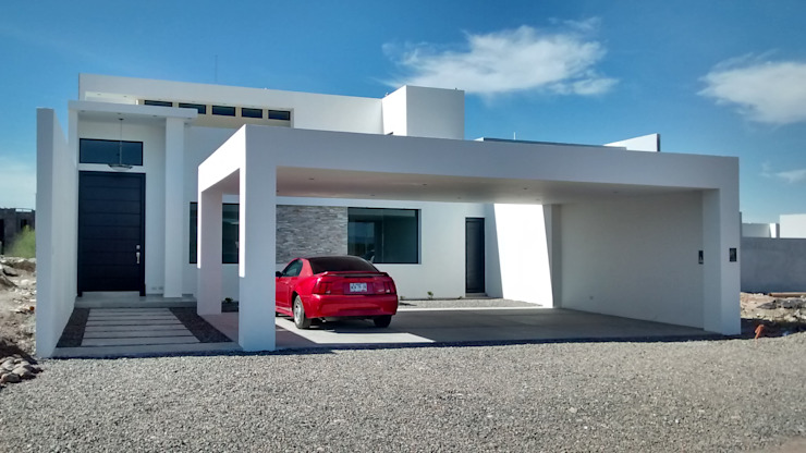 Casa Minimalista de Guiza Construcciones