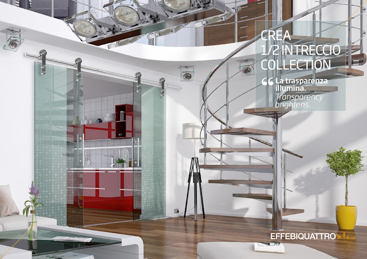 Effebiquattro S.p.A. Glass doors Glass Transparent