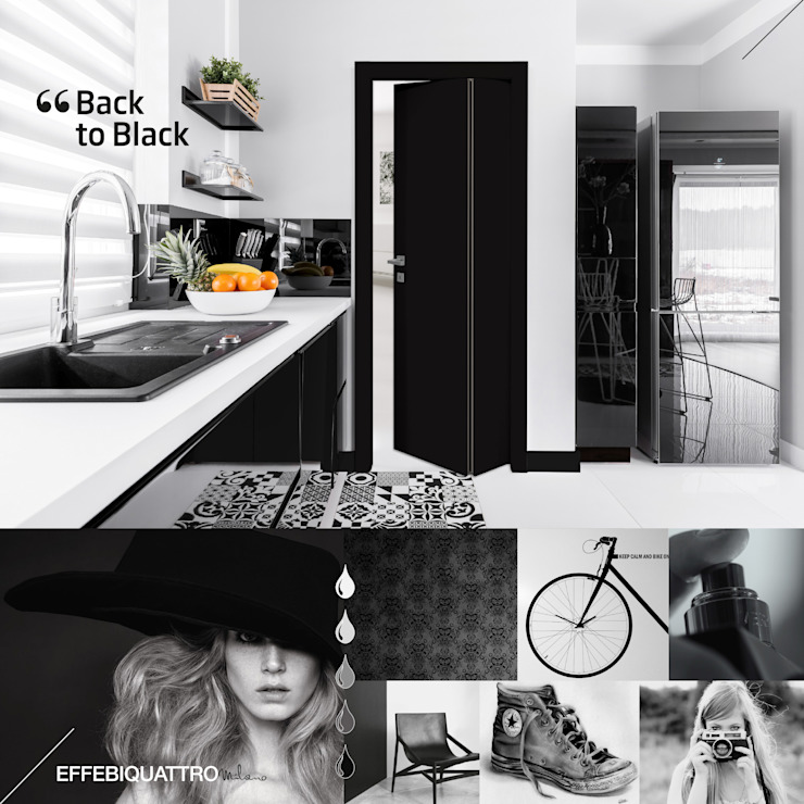 Effebiquattro S.p.A. Wooden doors Wood Black