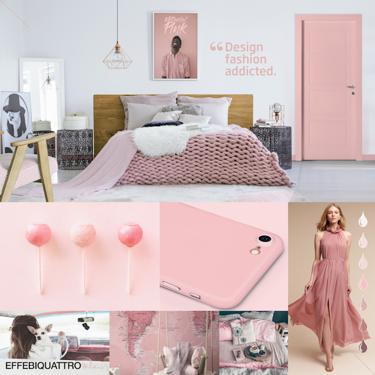 Effebiquattro S.p.A. Wooden doors Wood Pink