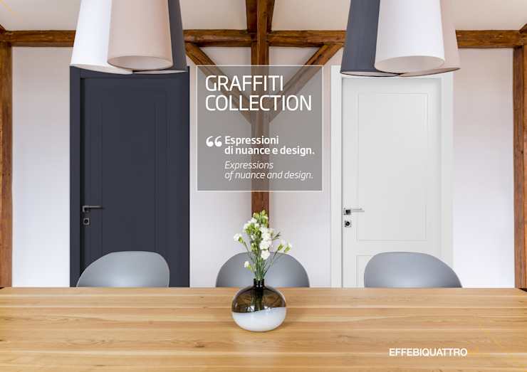 Effebiquattro S.p.A. Wooden doors Wood Grey