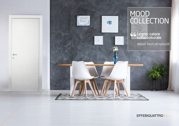 Effebiquattro S.p.A. Wooden doors Wood White