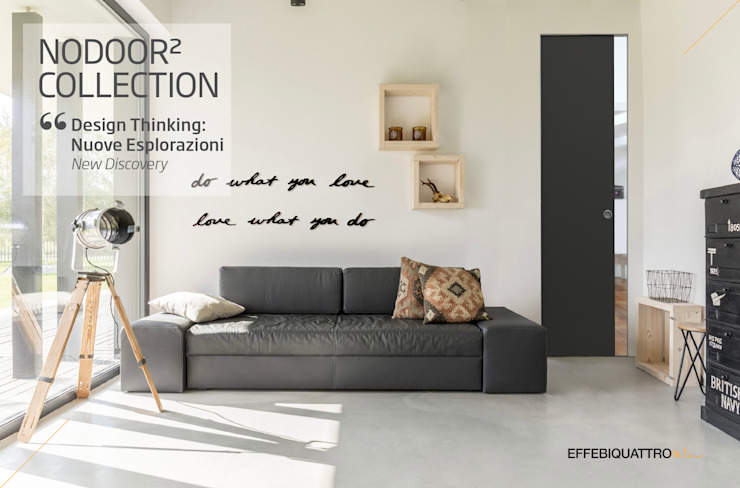 Effebiquattro S.p.A. Sliding doors Wood Grey