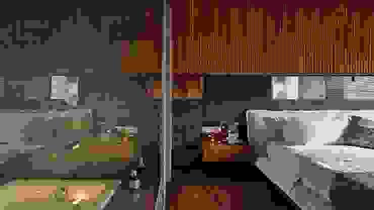 Asian style bathroom by 大湖森林室內設計 Asian Glass