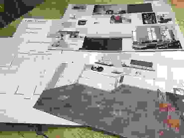 Totaal overzicht design plan voor keuken van Studio Room by Room