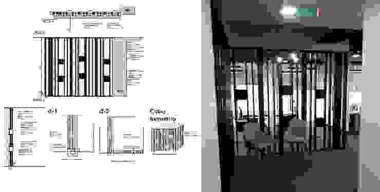 Mueble recibidor Arq Darwin Machiste Salas/RecibidoresAccesorios y decoración Madera Negro