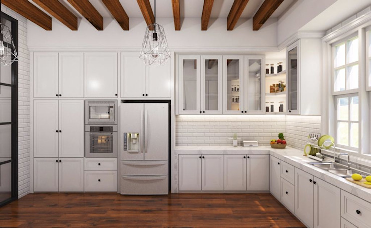 Kitchen Dapur Gaya Country Oleh Lighthouse Architect Indonesia Country