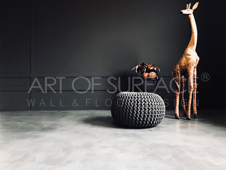 BETON SPACHTELBODEN von ART OF SURFACE Modern