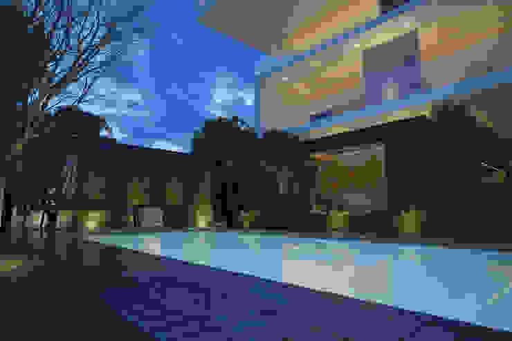 Vista Alberca Albercas minimalistas de 21arquitectos Minimalista