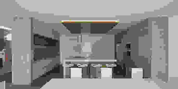 Vista Cocina Cocinas minimalistas de 21arquitectos Minimalista