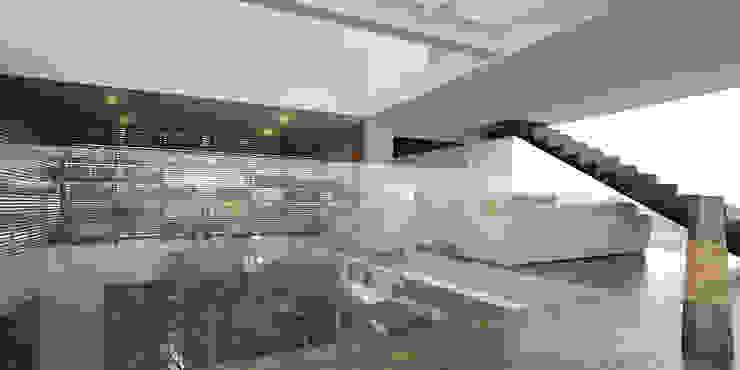 Vista Sala de Tv Salones minimalistas de 21arquitectos Minimalista