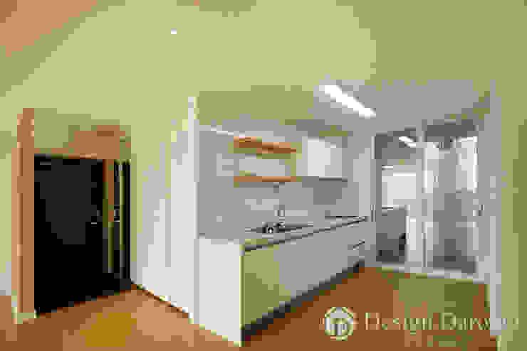 암사동 한강포스파크 25py 주방 모던스타일 주방 by Design Daroom 디자인다룸 모던