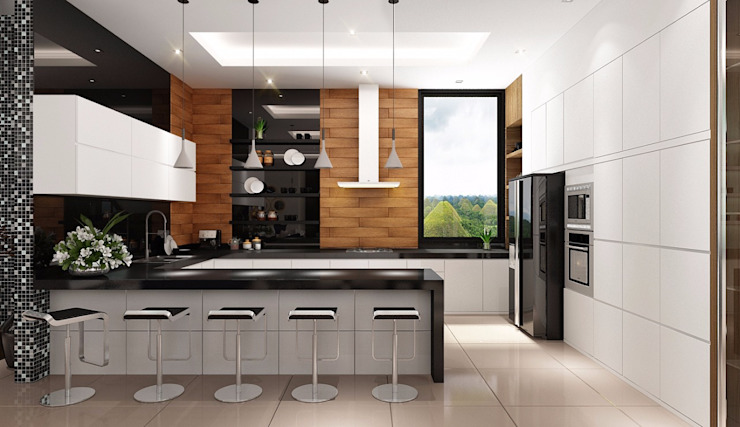 Modern kitchen by Lighthouse Architect Indonesia Modern